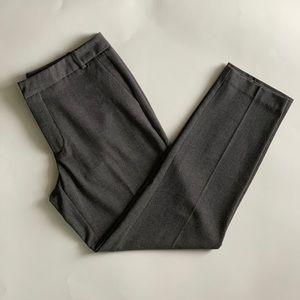 Zara Basic Collection Sz 8 Black White Ankle Pant